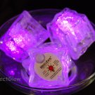 Set of 6 Pink Litecubes Brand Light up LED Ice Cubes