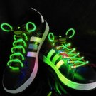 LED Lighted Shoelaces- Green