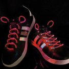 LED Lighted Shoelaces- Red