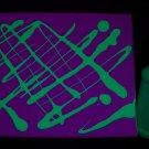 8oz Green Blacklight Reactive Fluorescent Tempera Paint