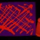 8oz Orange Blacklight Reactive Fluorescent Tempera Paint