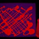 8oz Red Blacklight Reactive Fluorescent Tempera Paint