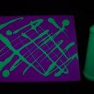 16oz Green Blacklight Reactive Fluorescent Tempera Paint