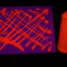 16oz Orange Blacklight Reactive Fluorescent Tempera Paint