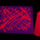 16oz Pink Blacklight Reactive Fluorescent Tempera Paint