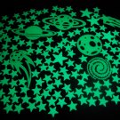 150+ Piece Glow in the Dark Stars Super Glowing Galaxy Set