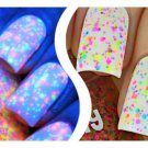UV Blacklight Reactive Neon Glitter Nail Polish- Freckles