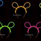 Set of 5 Assorted Glow Bunny Ears
