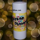 32oz GOLD Blacklight Reactive Tekno Bubbles with Free Bubbles Wands and UV Marker