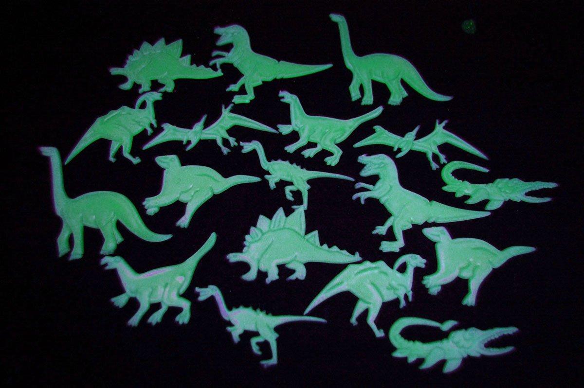 18 Piece Glow in the Dark Dinosaurs