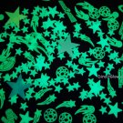 200+ Piece Super Glow in the Dark Stars Set with Projector Light