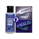 2oz Industrial Bright BLUE Blacklight Reactive Invisible Ink