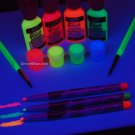 Tulip Blacklight Reactive Electric Neon Color Kit
