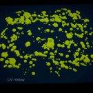 8oz Yellow Blacklight Reactive Fluorescent Acrylic Paint