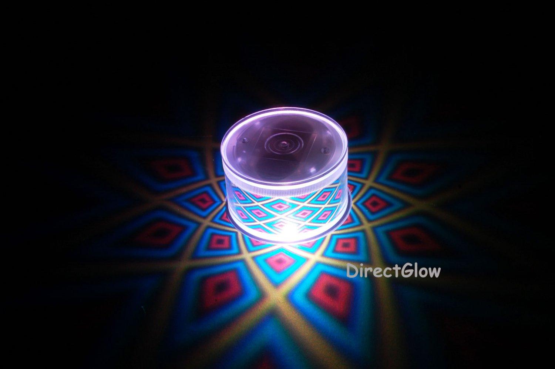 Set of 2 LiteRays LED Light Up Projection LitePod- 5 Star