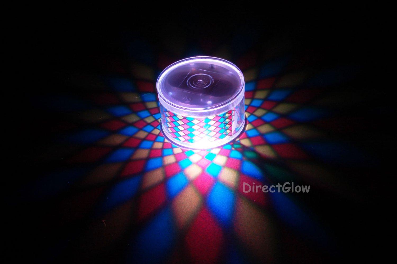 Set of 2 LiteRays LED Light Up Projection LitePod- Diamond