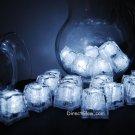 Set of 24 White Litecubes Brand Light up LED Ice Cubes