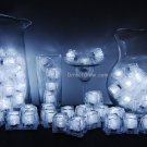 Set of 72 Litecubes Brand WHITE Light up LED Ice Cubes