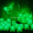 Set of 48 Green Litecubes Brand Light up LED Ice Cubes