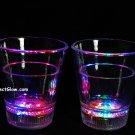 Set of 2 MultiColor LED Light Up Shot Glasses