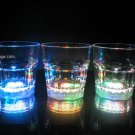 Set of 2 LED Light Up 8oz Rocks Glasses