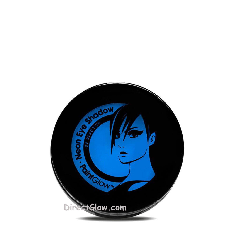 PaintGlow Neon Blue UV Blacklight Reactive Eye Shadow