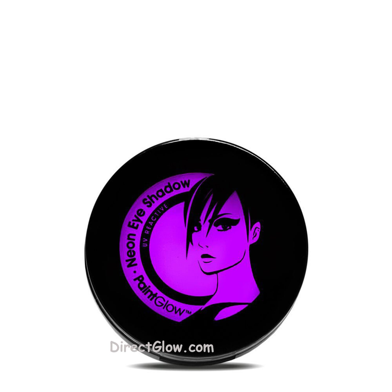 PaintGlow Neon Violet UV Blacklight Reactive Eye Shadow