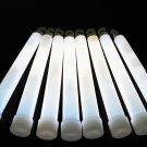 Set of 25 WHITE Jumbo 6 Inch 12 Hour Safety Glow Sticks