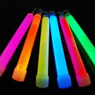 Set of 25 Assorted Jumbo 6 Inch 12 Hour Safety Glow Sticks