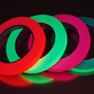 4 Pack Half Inch UV Blacklight Reactive Fluorescent Gaffer Tape 4 Rolls x 25 Yds