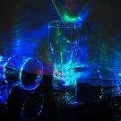 2 Pack 3 Mode Light Up LED Cola Glasses