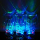 4 Pack 3 Mode Light Up LED Cola Glasses