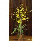 Dancing Lady w/Moss Pot - Yellow
