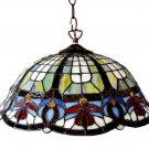 Victorian Design Tiffany Styled Hanging Lamp