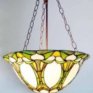 Victorian Reverse Hanging Tiffany Styled Lamp