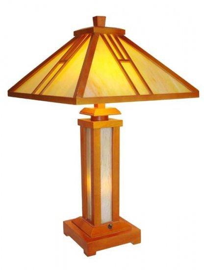 Mission Design Lighted Base Table Lamp