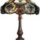 Tiffany Design Victorian Table Lamp