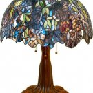 Wisteria Design High Detail Tiffany Styled Table Lamp