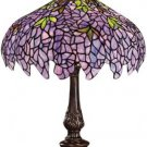 Wisteria Grapes Design Tiffany Styled Table Lamp
