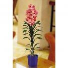 Silk Vanda Orchid Arrangement - Mauve