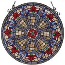 Baroque Stained Glass Panel