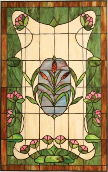 Special Southern Dream Design Stained Glass Panel