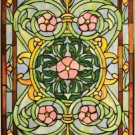 Victorian Design Stained Glass Panel