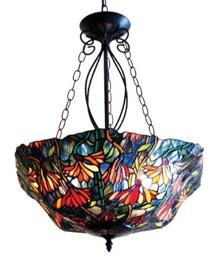 Leafs Tiffany Styled Hanging Lamp