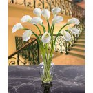 Calla Lily Liquid Illusion Silk Arrangement - Cream