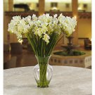 Freesia Liquid Illusion Silk Arrangement - Cream