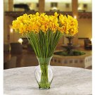 Freesia Liquid Illusion Silk Arrangement - Yellow