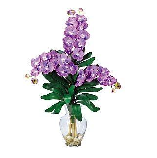 Triple Vanda Orchid Liquid Illusion - Purple