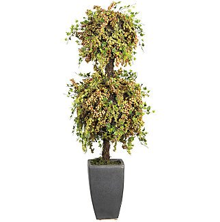 Double Ball Berry Topiary