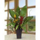 Mixed Tropical Silk Arrangement
